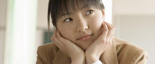 アイキャッチ画像。中学生の写真。